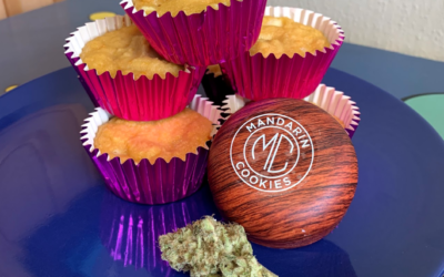 Comfort Food & Cannabis by The Woods – Mandarin Muffin Cakes