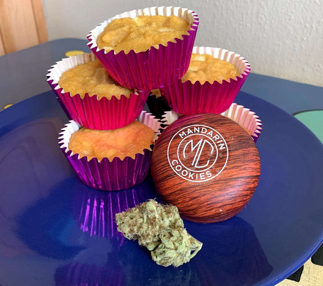 The Woods' Mandarin Cookies paired with Mandarin Muffin Cakes - available for pickup at terrapincarestation.com
