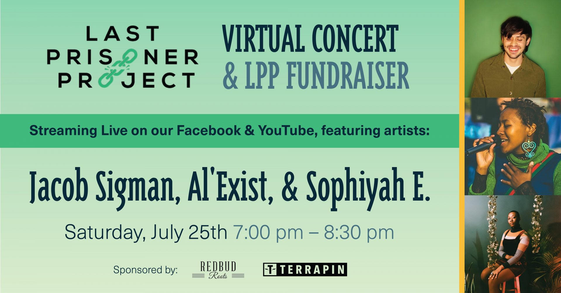 Upcoming: Om of Medicine's Virtual Concert for Last Prisoner Project