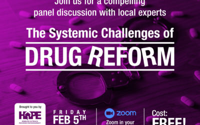 A Discussion on Drug Reform